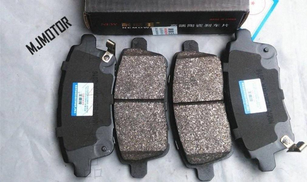 2 модели T600 Задние тормозные колодки, установленные для китайского Zotye T600 SUV 1.5T двигателя Авто автомобильных частей 3501117001B1127009 YJCC #