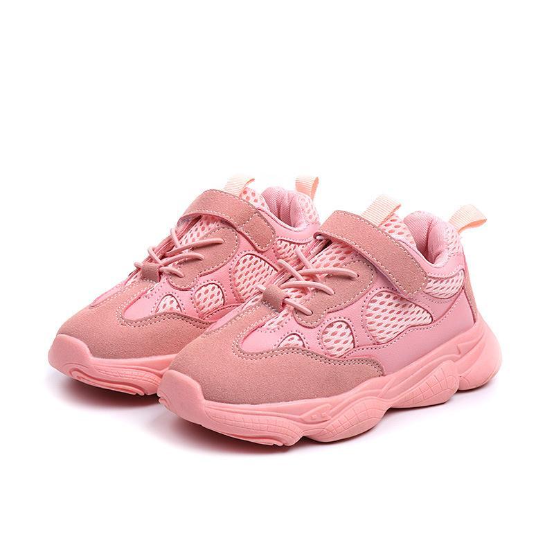 chaussures de sport pour enfants automne nouveaux garçons de mode et chaussures filles semelle souple antidérapante mesh respirant runing de chaussures de course gosse enfants