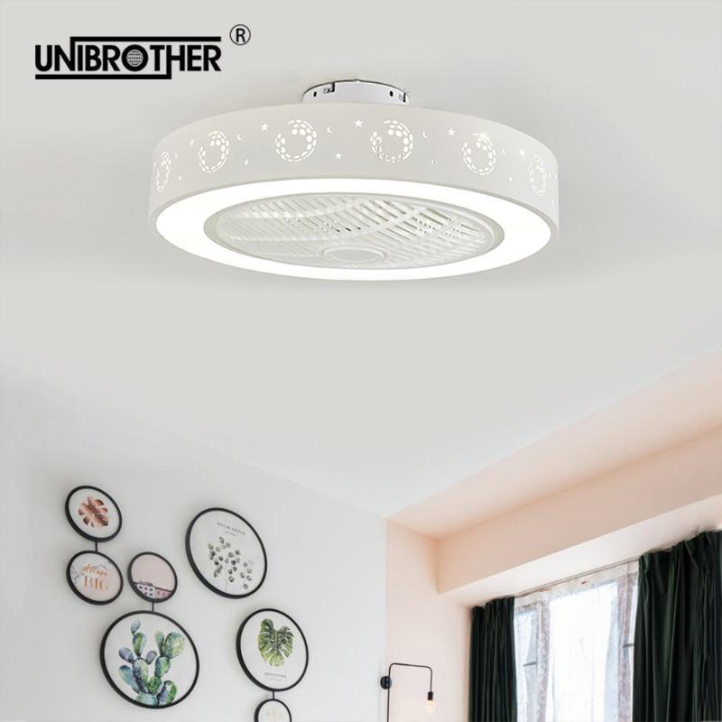 Ventilateurs électriques 55cm LED Plafond Ventilateur de ventilateur avec lampes de chambre à coucher de football Enfants de football Chambre à la maison Restaurant 40w Trois Changement de couleur