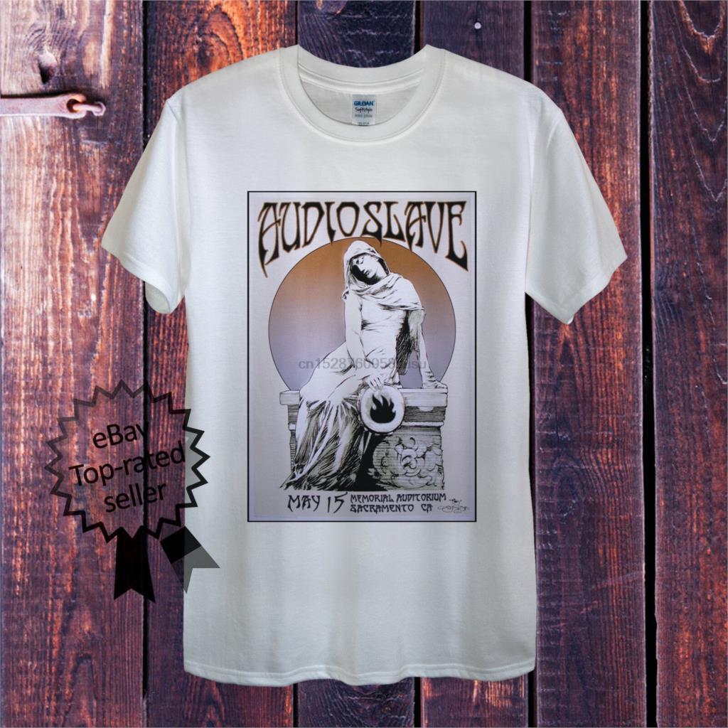 Audioslave T-shirt Chris Cornell Rock americano Rage Against the camicia di cotone T Metal Machine 2019 moda maglietta 100%