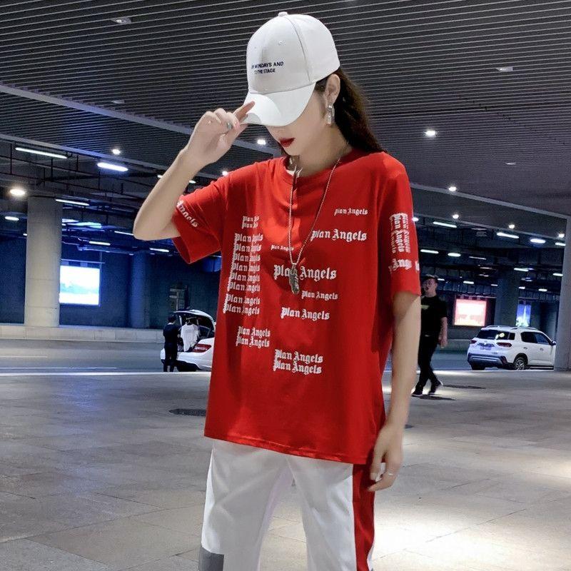 fDpNS new new leisure sports suit women's Tiktok clothes leisure ghost clothing hip-hop street adult dance clothes walk ghost dance drag 4DQu