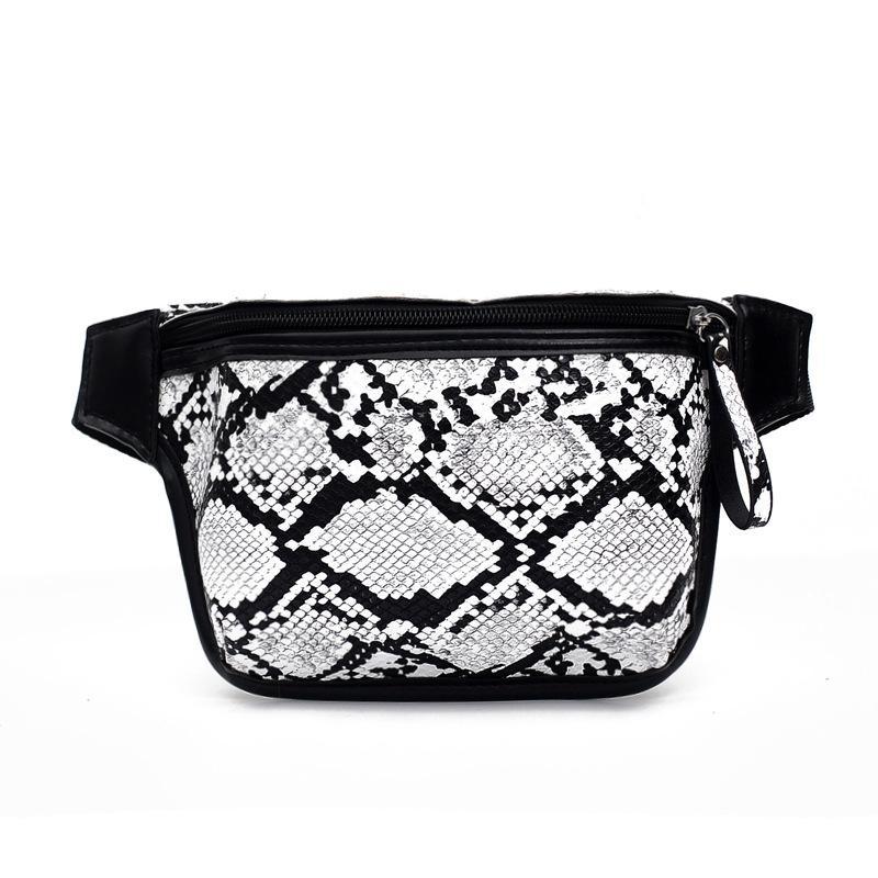 2020 Messenger Simple Pockets Pattern Fashion Summer Snake Hombro Bolso personalizado Qcgau