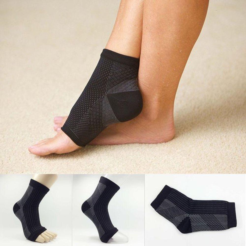 Ayak bileği Sıkıştırma Kol Çorap Destek 1pc Rölyef Kaldır Şişme Spor Çorap
