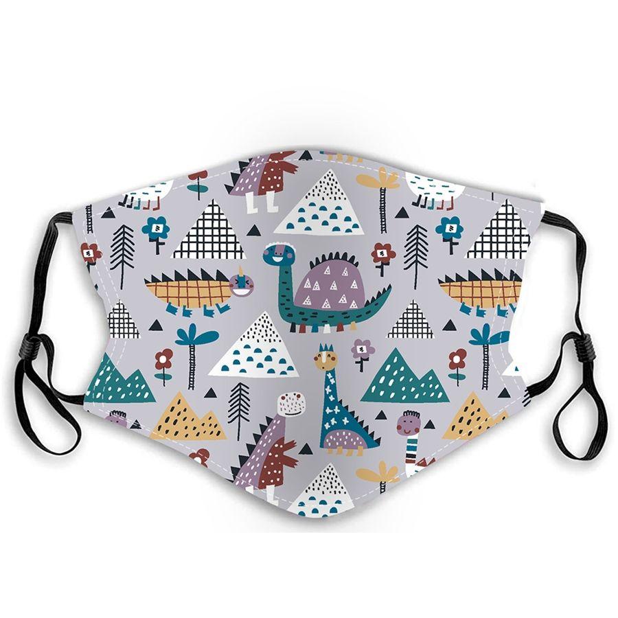Masque réglable, Masque bouche Coton Noir Masque moufles pour le cyclisme Camping Voyage, 100% coton lavable Masques réutilisables en tissu # 420