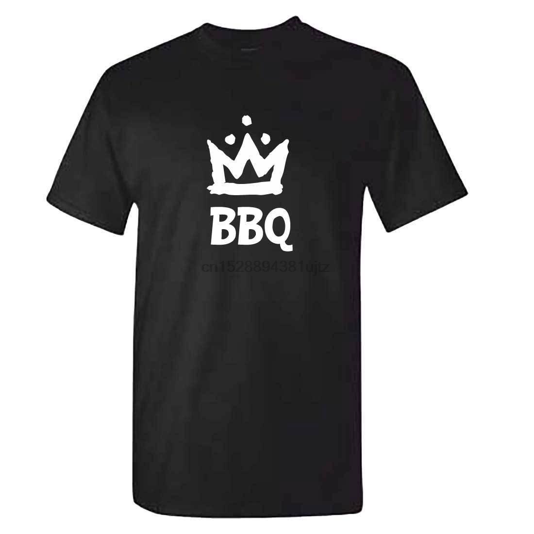 Mens BBQ KING T-shirt - drôle BBQ Barbecue tshirt - Outils Accessoires cadeaux