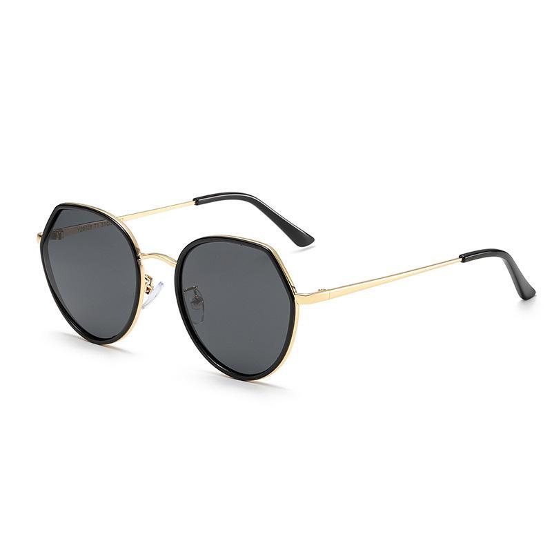 Vehion Gläser Polarisierte Sonnenbrille Antriebsmarke Sonne Weibliche Designer Frauen Dekoration Gesicht Luxus ISSNV Small für Elegante ATXXJ