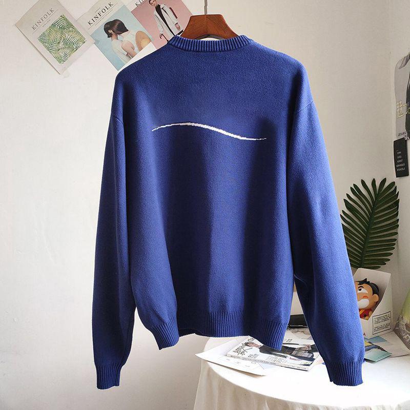 Mode hiver pour femmes Pull Pull Top ambulantes Pull Ladys à manches longues Cardigan Vêtements pour femmes Oversize femmes Jumper