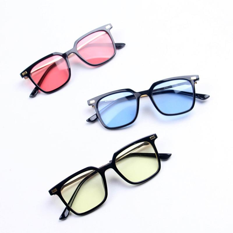 Vintage Kinder Platz Baby-Sonnenbrillen Junge Mädchen Mode für Kinder Übergrößen Infant Sonnenbrillen für Kleinkind-Brillen Gafas Oculos 2020