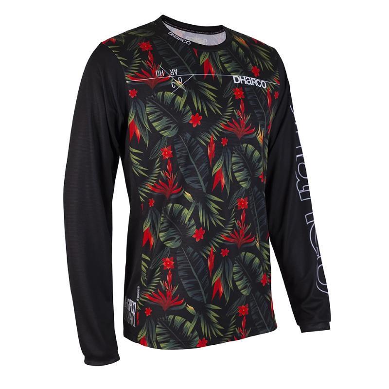 Гоночные куртки 2021 Dharco Downhill MTB Jersey Moto Off Road Long Motorcycle Motocross MX Spexcel Cything Hombre BMX рубашка
