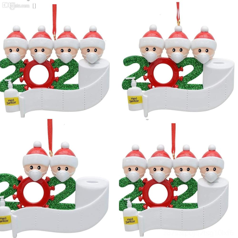 h6bin Decorations cutlery restaurant Hotel Snowman bag tabletop bag xmas set gift decorations cutlery small clothes pants bag FFA christmas