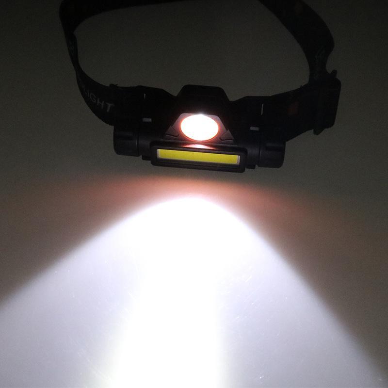Завод прямые продажи хорошего Mini многофункциональном сильной фар двойной лампа магнит работа лампа USB зарядка технического обслуживание аварийного освещения