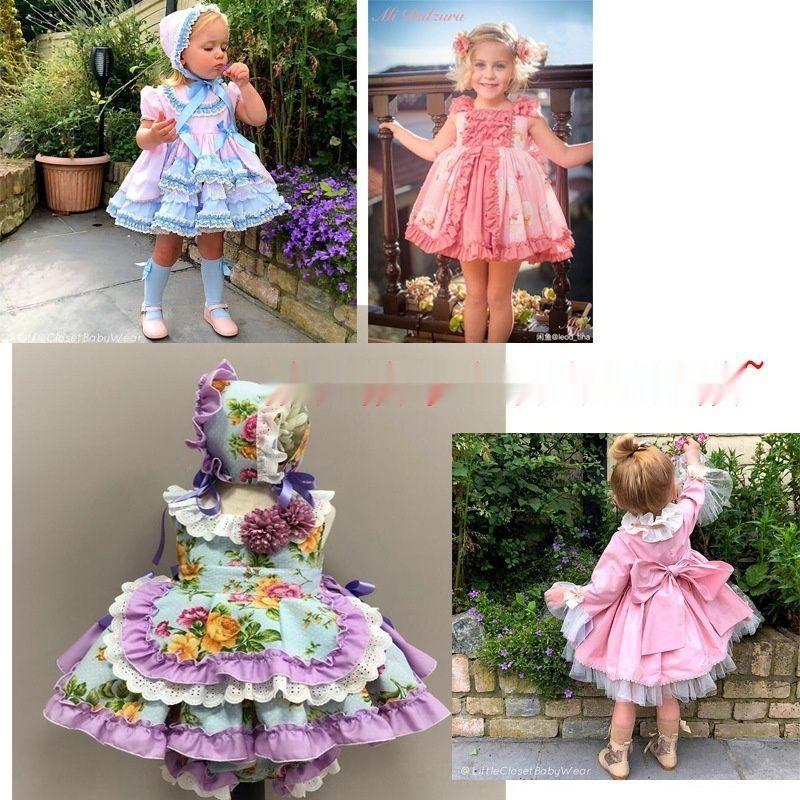 style espagnol enfants princesse Pengpeng style vestimentaire des enfants espagnols princesse Pengpeng Robe dLjGy