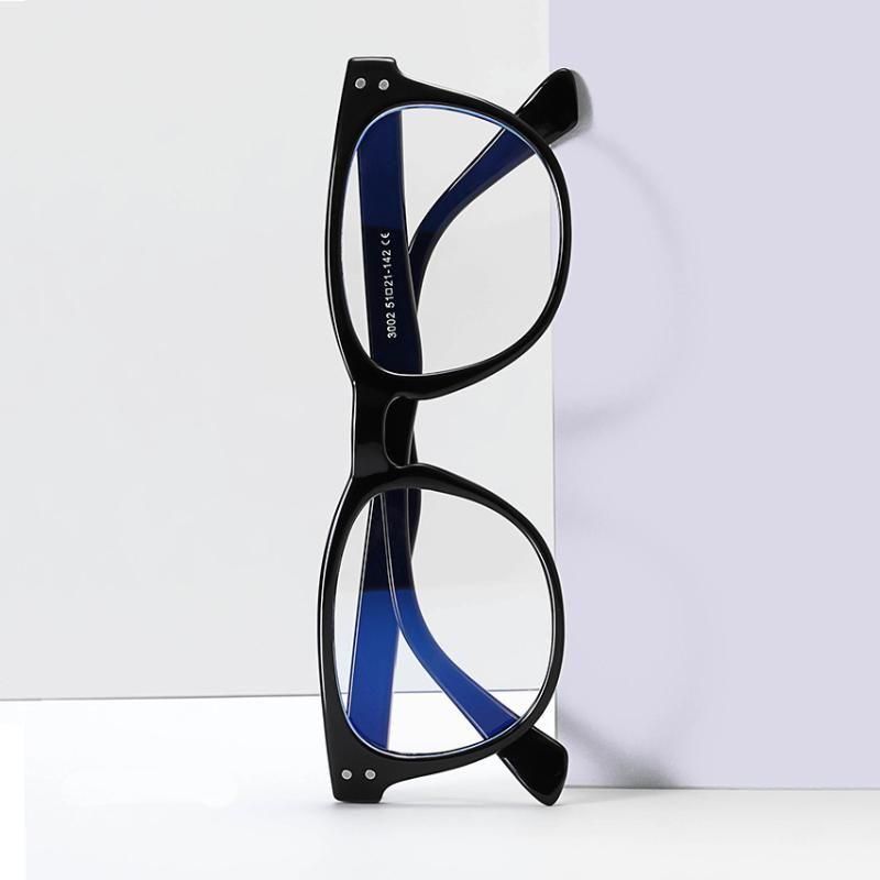 Neue Retro-Platz Anti-blauer Licht Glasrahmen, Trend-Glas-Rahmen für Männer und Frauen Myopie Prescription A3002