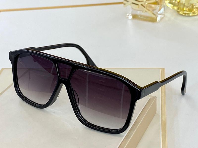 156S النظارات الشمسية للنساء حملق التفاف uv حماية القط العين نموذج إطار كبير الإطار لون مزدوج مع القضية