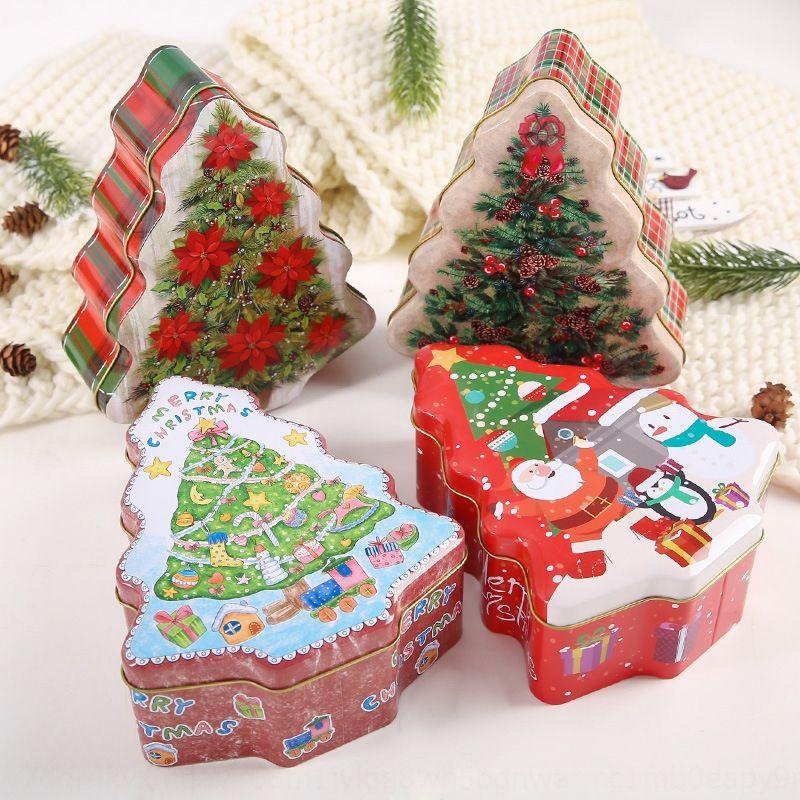 EtPDz Quying nuovo albero banda stagnata forniture caramelle per bambini Quying nuovo regalo albero di latta barattolo scatola decorativa Candy box regalo arredamento vaso per bambini