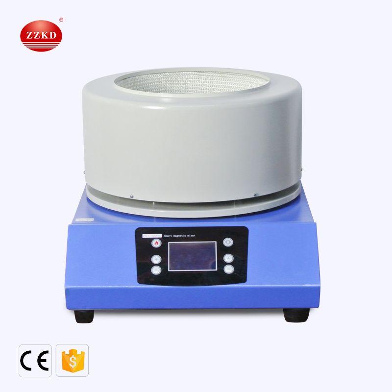 ZZKD 5L Novo Tipo Curto Dispositivo Path Destilação Apoio Equipamentos Magnetic agitação Aquecimento Eléctrico Mantle, 220V / 110V