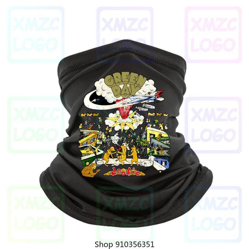 Vtg Green Day Dookie 1994 Posto Bandana Unisex preto dos homens New S 234Xl Av69 Headband lenço Bandana Neck Warmer Mulheres Homens