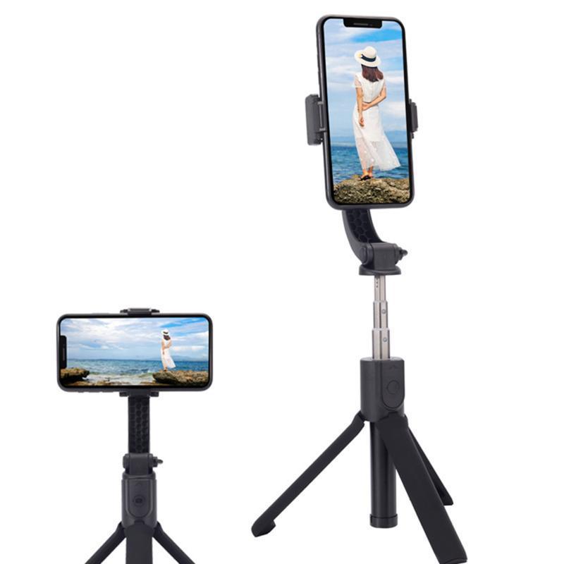 H5 Gimbal Handy Stabilizer Anti-Shake-Stativ Bluetooth Zoom Fernbedienung Selfie-Stick für Android Phone