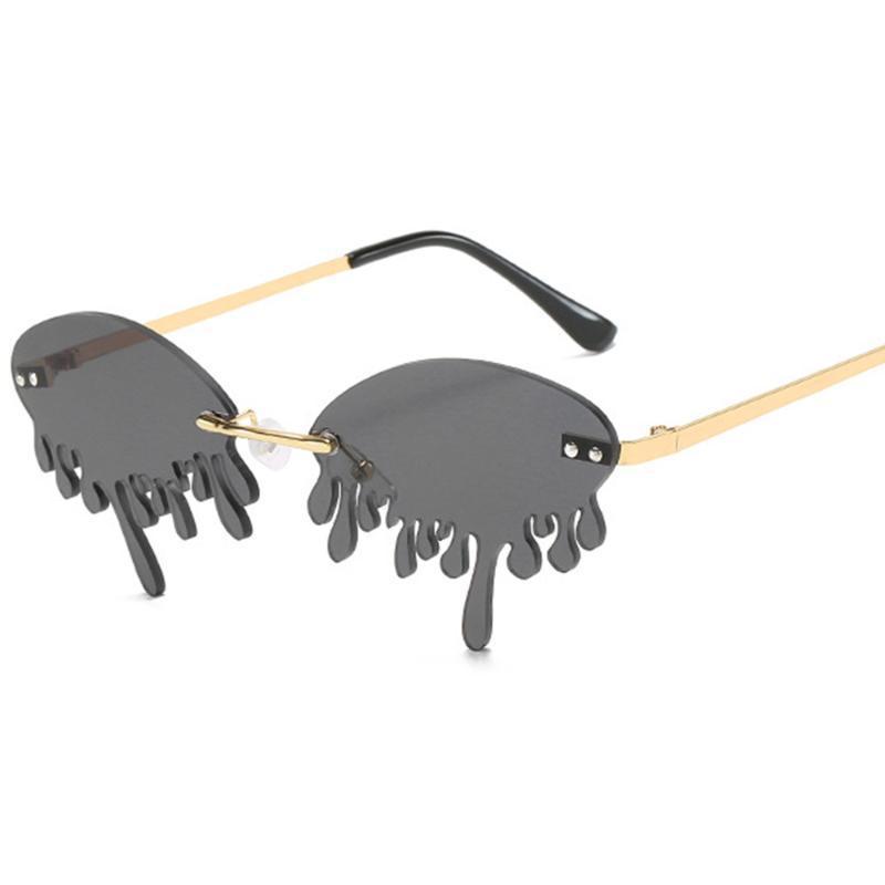 Moda original uv400 oculos novo vintage óculos de sol forma feminino óculos de sol feminino gafas tons steampunk mulheres lágrimas xbtrh