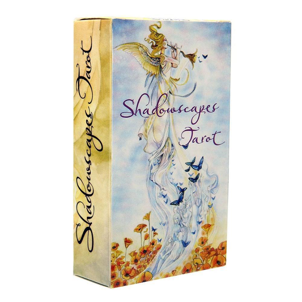 78pcs Полная английская версия Таро Совет Семья Смешной Shadowscapes Игра Игра партбилеты Игры для женщин Читать Fate