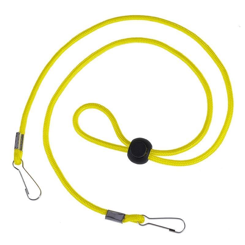Cuerda de seguridad Resto 10colors Máscaras de la seguridad ajustable del sostenedor del oído cuerda de la caída en la secuencia del cuello de la máscara anti-pérdida de correas Gga3658-7