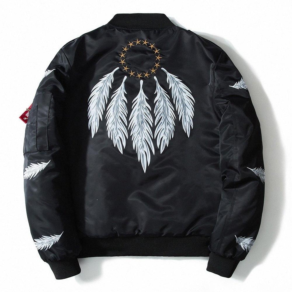 Мужская весна осень Pilot куртка бомбардировщика куртки способа людей Bomb Baseball Jacket дождя куртки Водонепроницаемые куртки nwYi #
