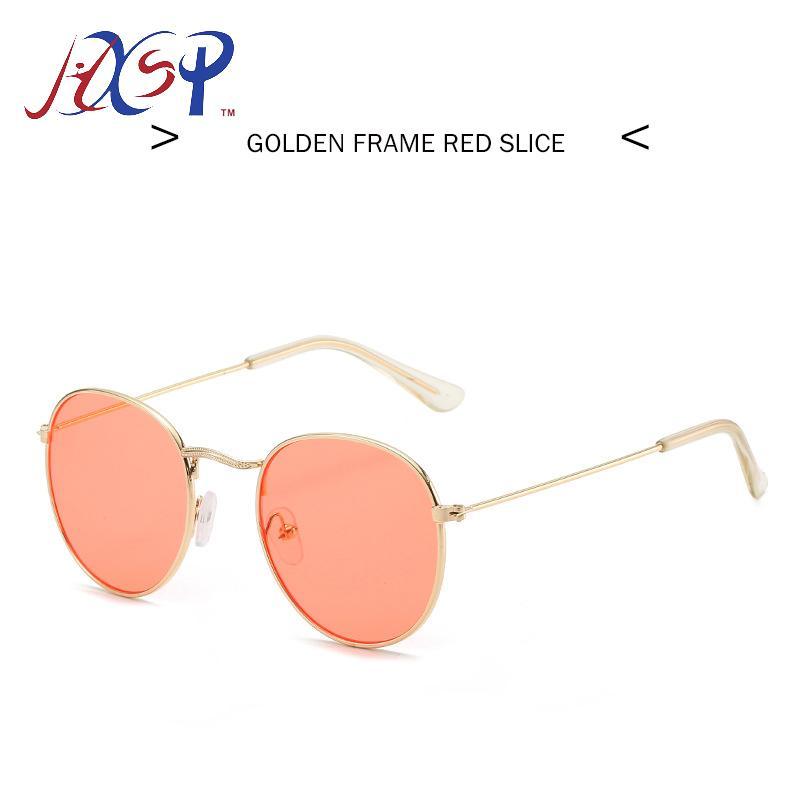LeonLion 2020 Classic Small Frame Round Sunglasses Women/Men Brand Designer Alloy Mirror Sun Glasses Vintage Modis Oculos