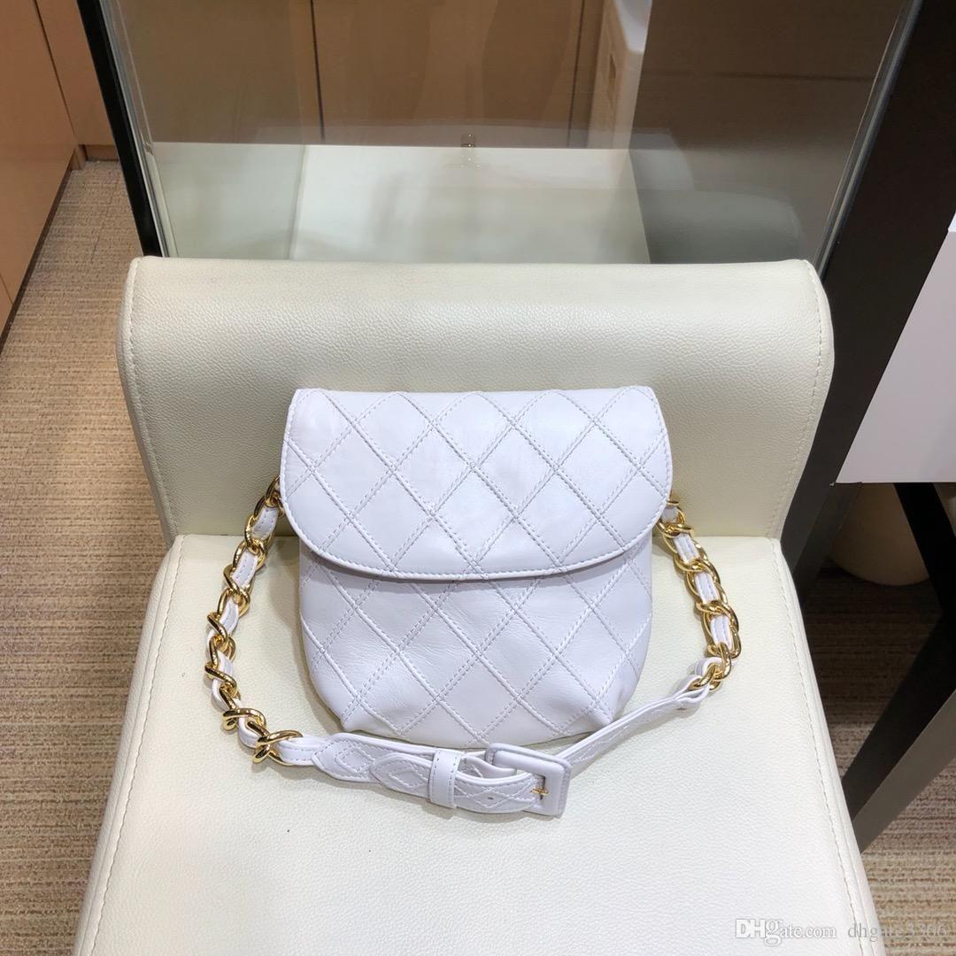 Haut de portefeuille de sac à main dames sac de ceinture de marque de la marque épaule artisanale en peau de mouton véritable libre expédition DHL AS80063