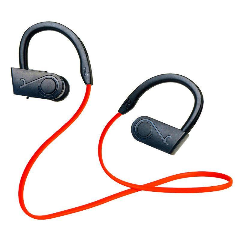 Fone de ouvido Bluetooth Wireless Headphone Esporte fone de ouvido estéreo de redução de ruído Waterproof Headset com microfone para o telefone móvel