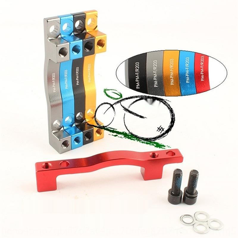 LykLT Mountain forcella anteriore della bici PM-PM F / R sedile adattatore adapterrefit Adattatore freno a disco 203 rimontare disco fotogramma di un tubo sella 203 freno