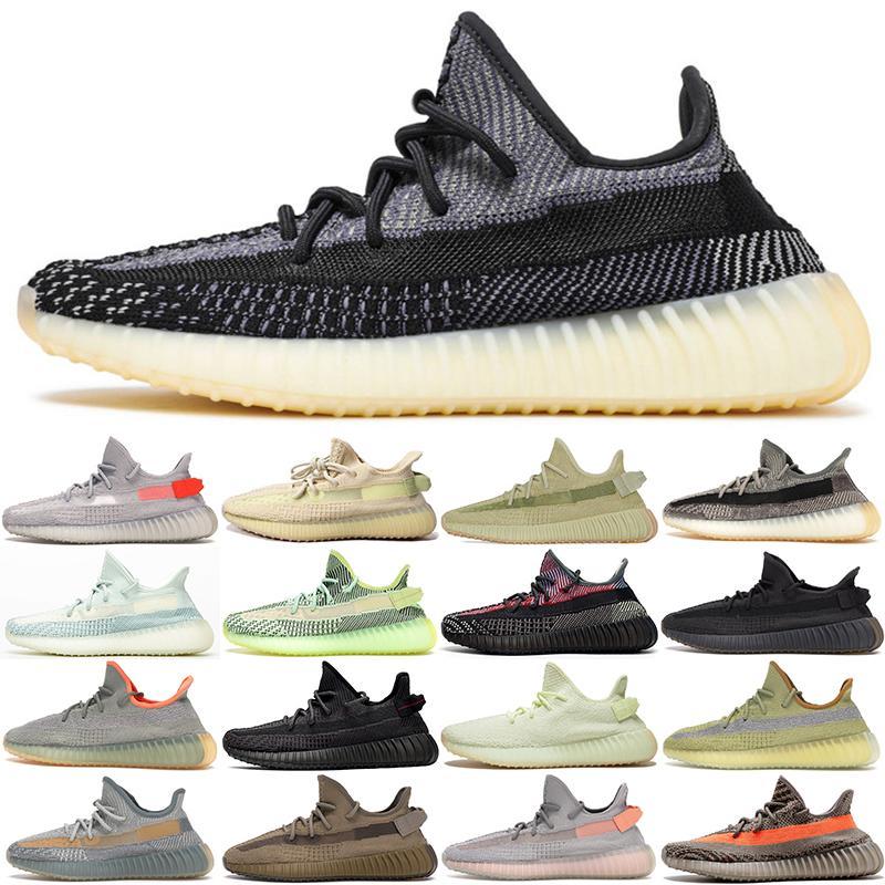 2020 Eliadá Kanye West para los zapatos corrientes de las mujeres Israfil Zyon estático pirata Negro des Chaussures diseñador para hombre de las zapatillas de deporte Deportes tamaño grande US13