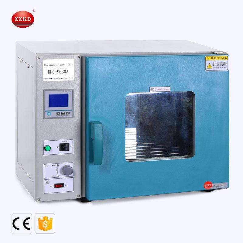 Zzkd lab fornece equipamentos de forno de secagem elétrica de laboratório 36l laboratório, usado para alimentos secos de ar, aparelhos químicos e outros materiais molhados