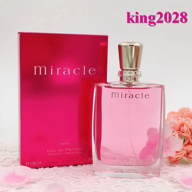 Marca Perfumes flor fruta milagrosa flor 100ml 3.4FL.OZ La vie est belle Eau de Parfum Larga Duración buen olor de la fragancia Señora