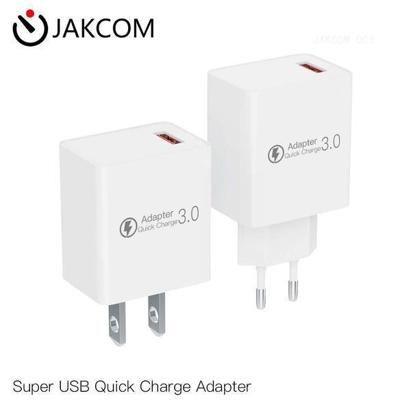 JAKCOM QC3 super USB Charge rapide Adaptateur Nouveau produit de chargeurs de téléphone cellulaire comme cadeaux d'entreprise de dessin usb câble de données de table