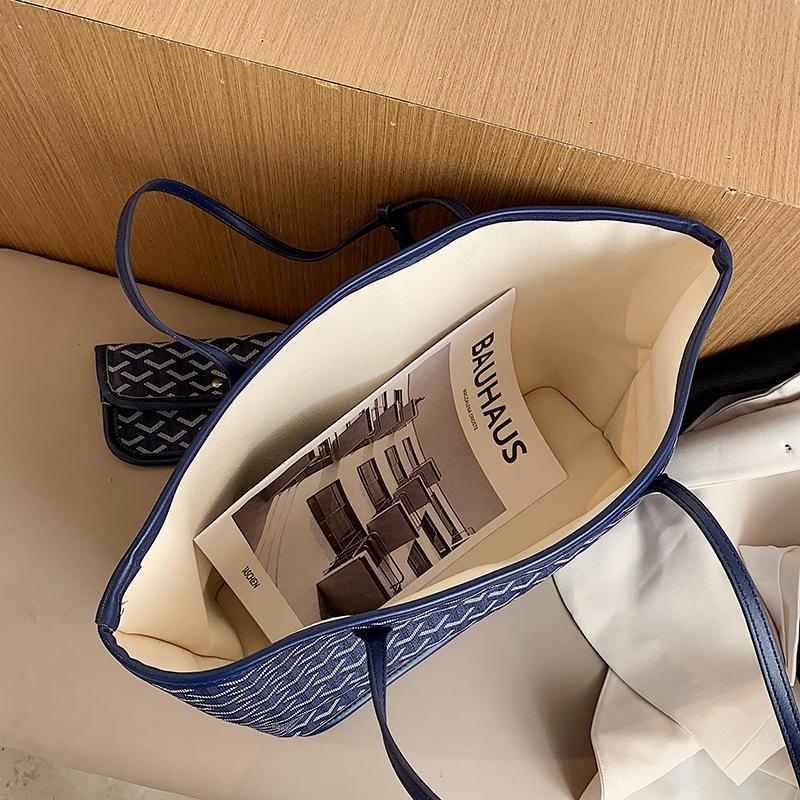 Food Basket Hand shoulder shoulder 2020 new fashion all-match portable large capacity tote bag women's bag oa23H