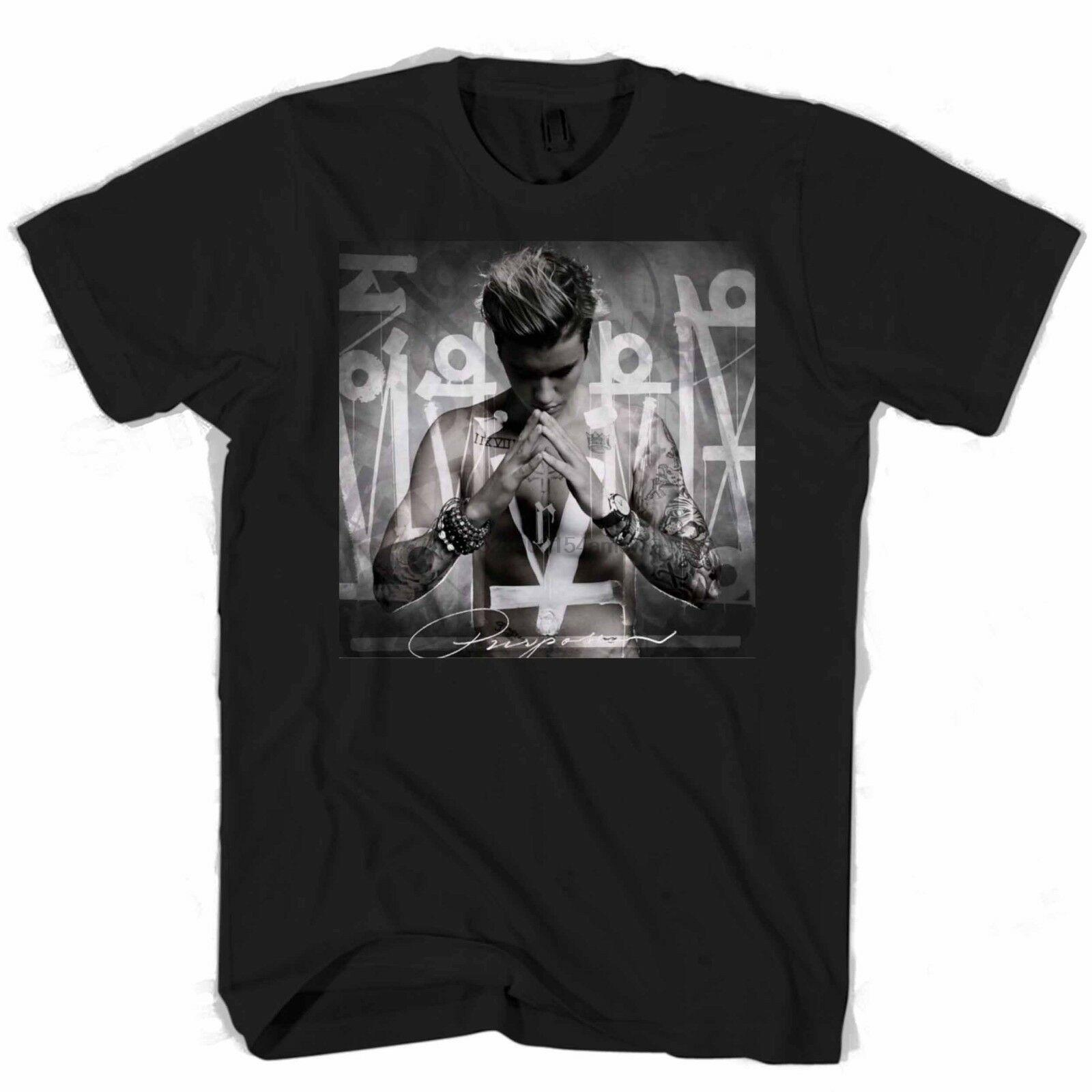 Justin Bieber album Homme Femme T-shirt