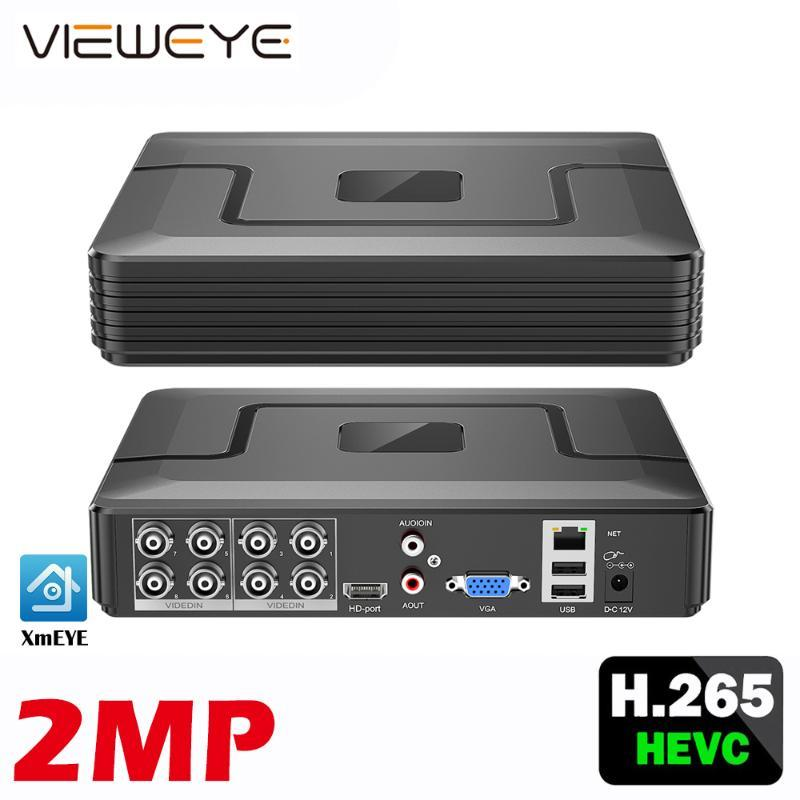 Xmeye Face erkennen Audio H.265 + HI3521D 5MP 8CH 8 Kanalüberwachung Videorecorder Hybrid WiFi 6 in 1 TVI CVI NVR AHD CCTV DVR