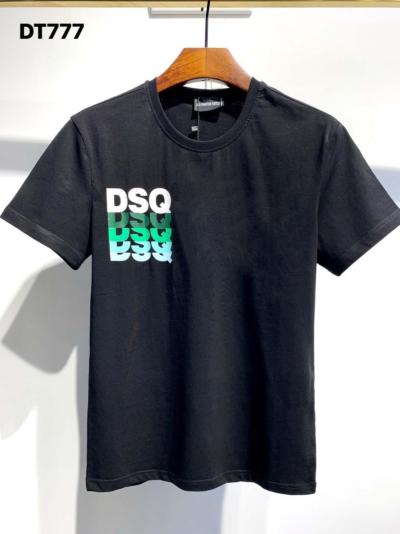 DSQ Phantom Tortue 2020ss New Mens Designer T-shirt Italie T-shirts Été Hommes DSQ T-shirt Homme Top Qualité 100% coton Top 3990