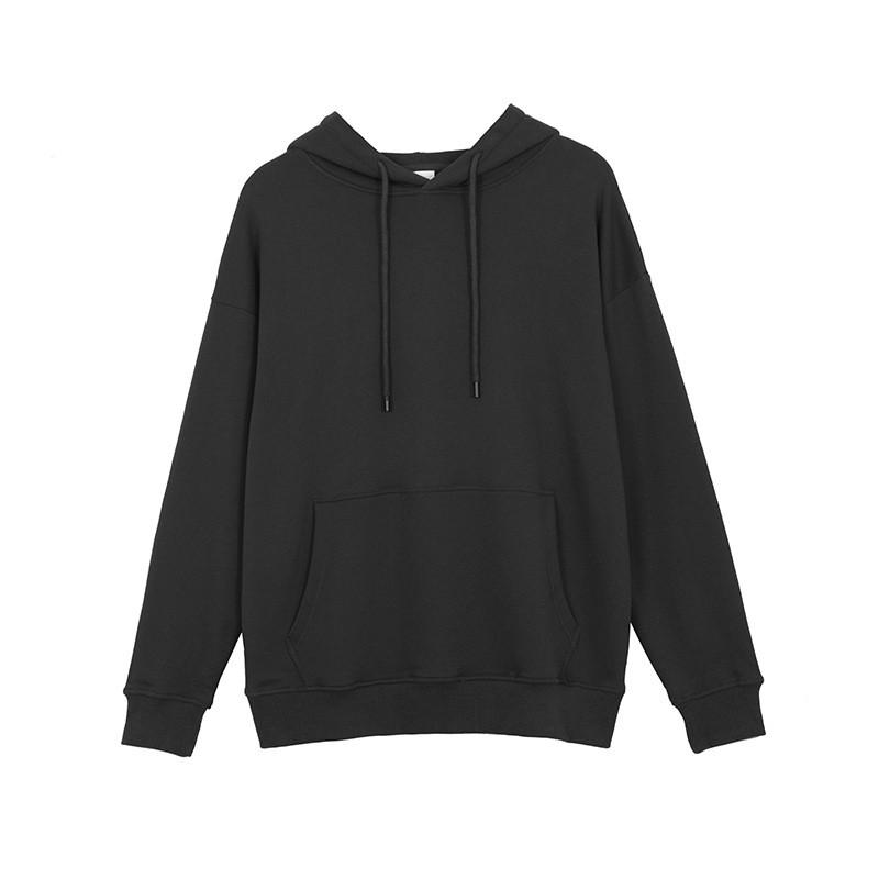 2020 Горячие продажи моды Hoodie Мужские Женские Спортивные пуловер 5 цветов Бленда хлопка Толстые способа Hoodie Пуловер Мужская толстовка