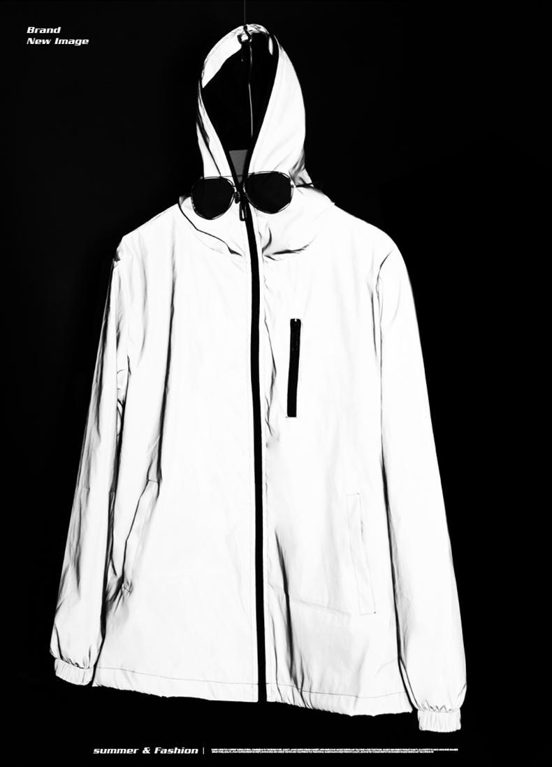 erkek, kadın ceket malın qualitng% 100 pamuk uzun kollu fermuar gündelik ince Asya boyutu normal doğal renk uiujd yansıtıcı judhhsd