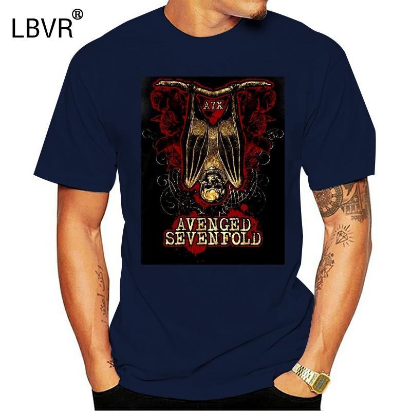 тенниска Avenged Sevenfold Бат Мужская мода футболки