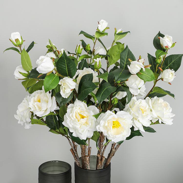 Новые китайского стиль Домашнего украшение Искусственного цветок украшение Классического Гостиная Таблица Имитация Цветы оптом Модель 7 H