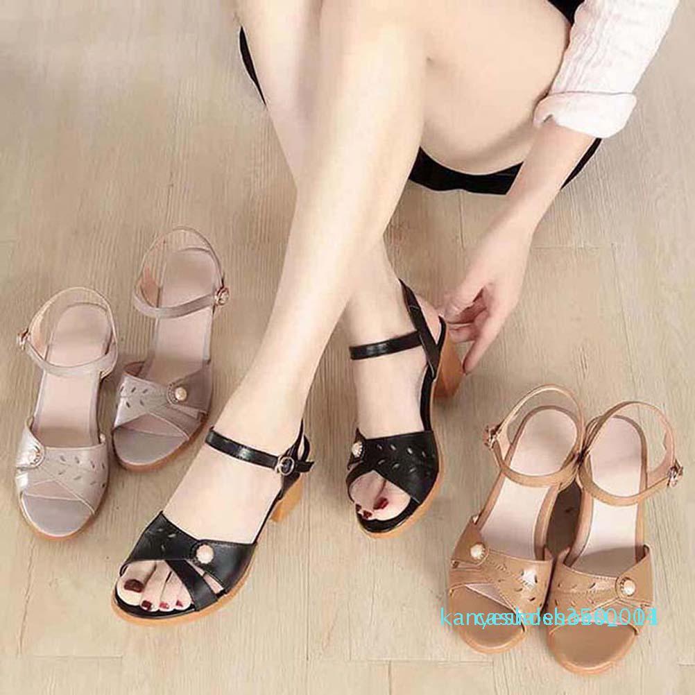 Chaussures femmes Sandales meilleure qualité Escarpin Sandales Chaussons Huaraches flip flops chaussures Mocassins Pour pantoufle shoe10 PL554 K14