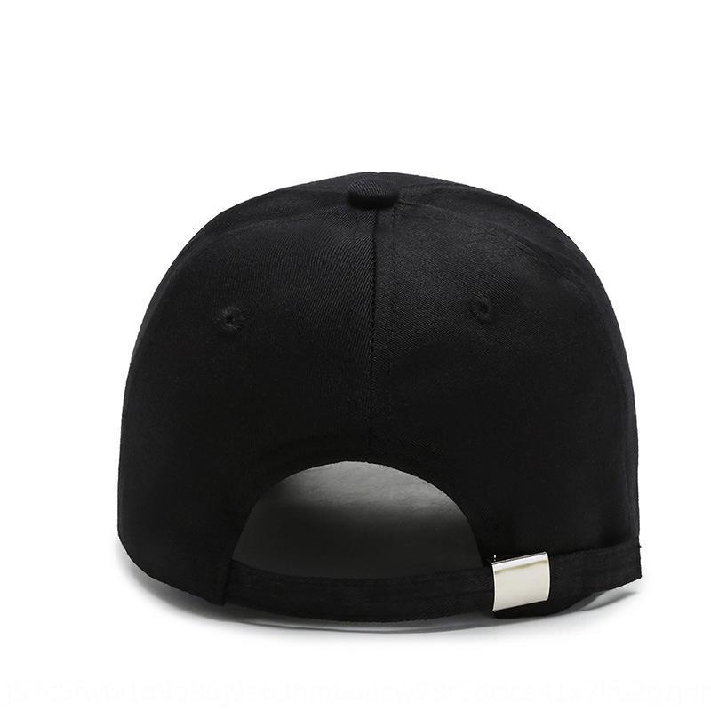 OtidT Nouvelle casquette de baseball style coréen à la mode masculine et ressort casquette de baseball féminin et casual chapeau de soleil de protection solaire d'automne en plein air tout m