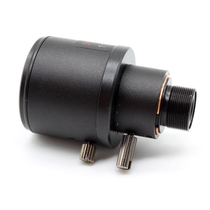 """Lente X1PC X2PCS X4PCS 5.0MP Varifocal 6-22mm CCTV Câmera 1 / 2.5 """"5MP HD IP F1.6 M12 Montagem para Câmeras"""