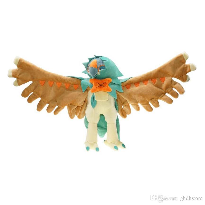 """Hot nuovo 12"""" 30 CM Sun Moon Fantasma Volare, Uccello Decidueye bambola della peluche del Anime collezione delle bambole molli migliori regali Giocattoli morbidi"""