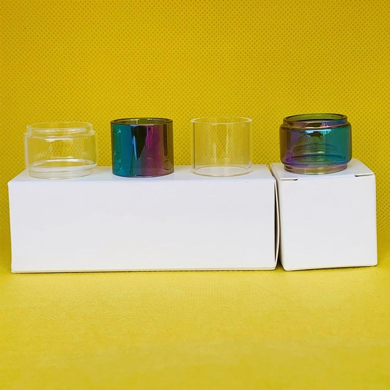 Smok TFV16 Lite 5 ml Tankı Normal Ampul Temizle Gökkuşağı Cam Tüp Kabarcık Dışbükey Uzatma Değiştirme 1 ADET / KUTUK 3 adet / kutu 10 adet / kutu