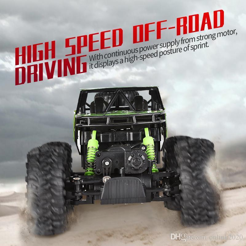 off-road Uzaktan Kumanda Tırmanma araba 2.4G dört çeker yüksek hızlı RC araba oyuncak çocuklar için Güçlü tırmanın oyuncaklar araba 4WD