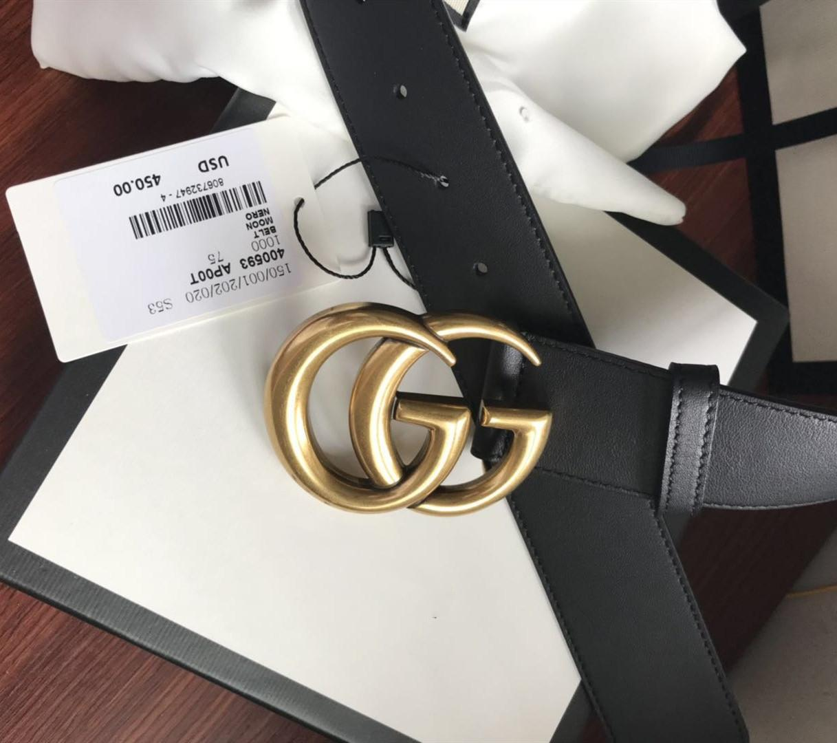 Hochwertig 4,0 cm Designer Gürtel Männer und Frauen Mode Gürtel Ledergürtel Gold Silber und Schwarz Buckle echtes Leder Gürtel Männer mit Kasten