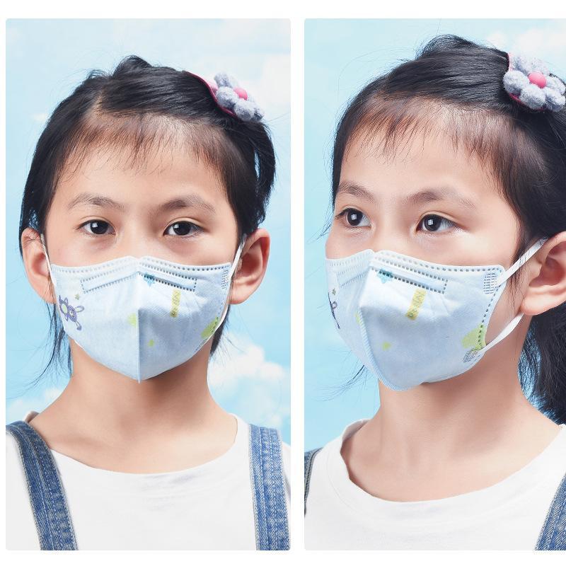 Mode Gesichtsmaske kn95 antibakterielle kleinen Maske staub- atmungsaktiv und anti-Tröpfchen Studenten kann Schutz Mund und Nasenmaske verwenden